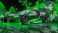 Bugatti-Chiron-3D-Super-Crystal-City-Graffiti-Girl-Dogs-Street-Art-Car-2016-Green-Black-Colors-4K-Wallpapers-design-by-Tony-Kokhan-www.el-tony.com-image