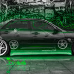 Toyota Altezza Two Cars JDM 2X Tuning Crystal Car 2016 Wallpapers 4K