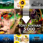 5 000 WALLPAPERS 4K DESIGN BY TONY KOKHAN 2017
