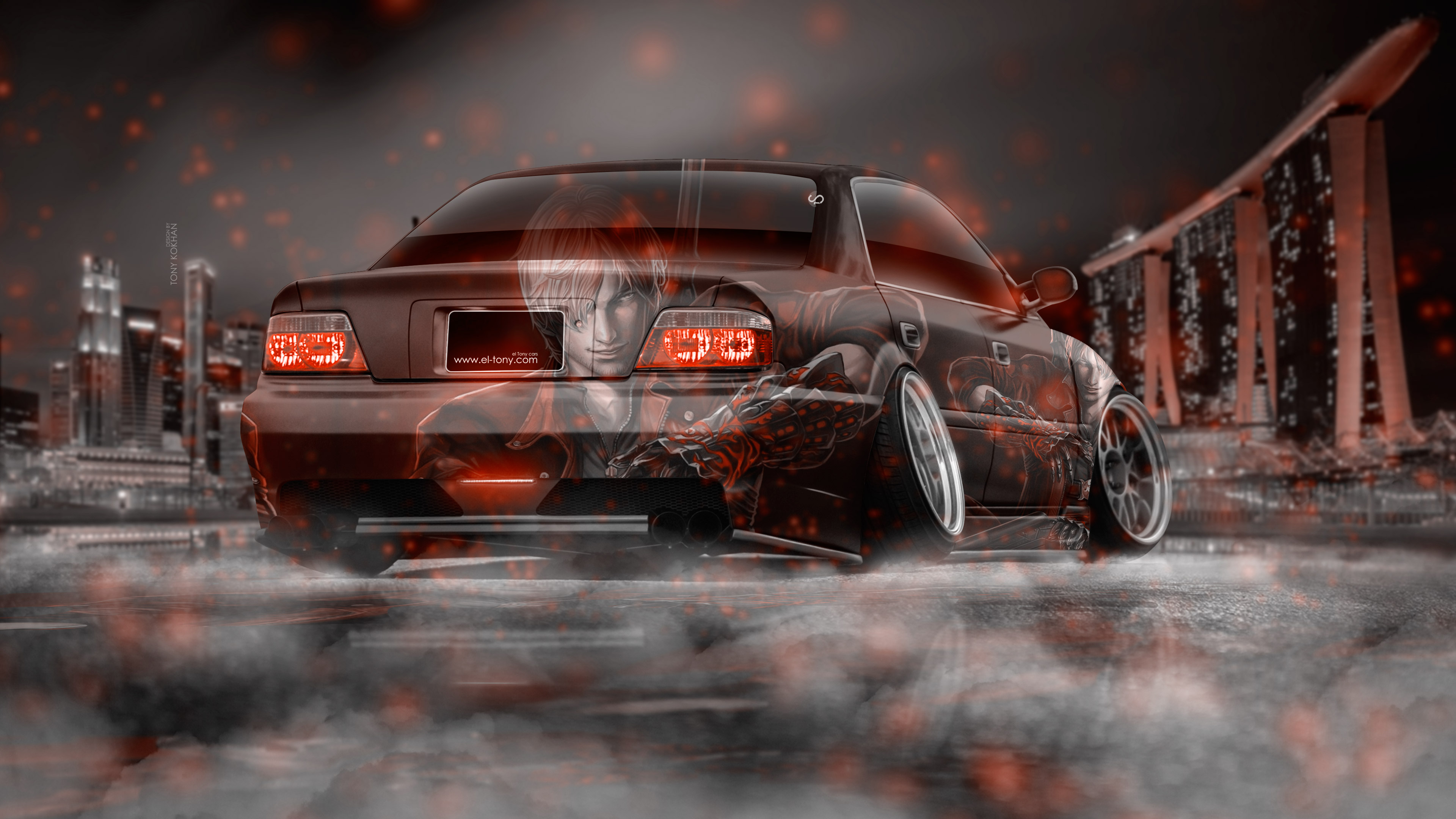 Toyota Chaser Jzx100 Jdm Tuning Devil My Cry Aerography