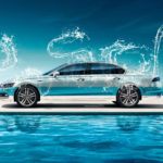 Volkswagen Phideon Side Super Crystal Water Sky Car 2017
