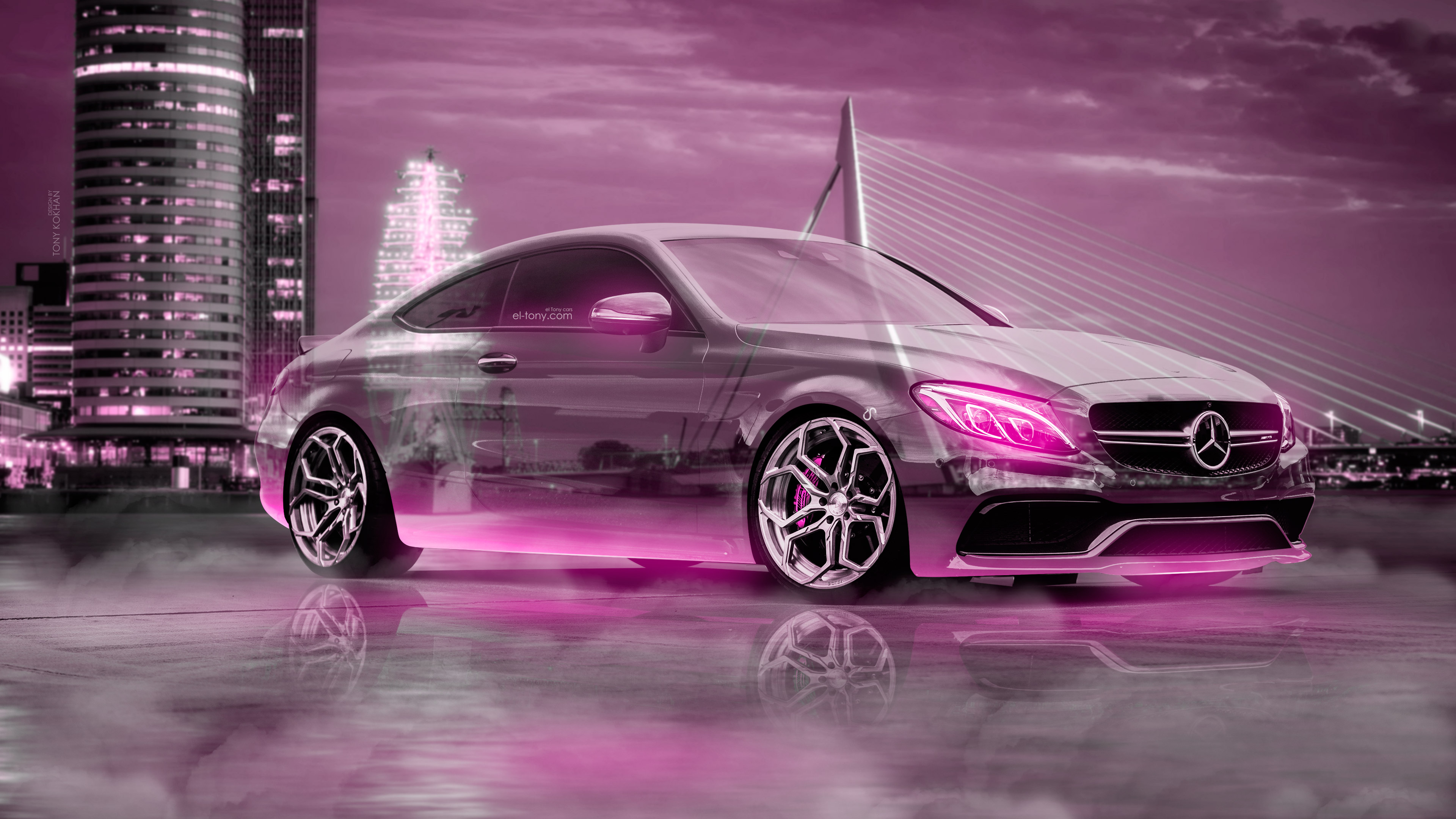 Mercedes-Benz C63S AMG Сoupe Crystal City Rotterdam ...