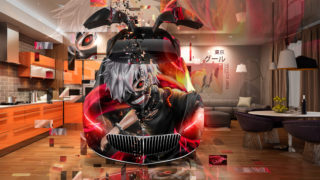 Mercedes-Maybach-Vision-FrontUp-Open-Doors-Super-Ken-Kaneki-Tokyo-Ghoul-Anime-Aerography-Home-Fly-Art-Car-2018-Multicolors-4K-Wallpapers-design-by-Tony-Kokhan-www.el-tony.com-image