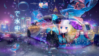 Toyota-Verossa-JZX110-JDM-Tuning-Super-Anime-Girl-Mask-Aerography-Under-Water-Night-City-Fish-Car-2019-Multicolors-8K-Wallpapers-design-by-Tony-Kokhan-www.el-tony.com-image