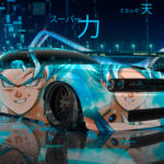 Dodge Challenger RT Liberty Walk Anime Dragon Ball Super Power Sky Energy Universe Perception TonySoul Car 2019