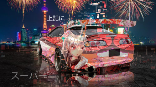 Toyota-Supra-JZA80-JDM-Tuning-Back-3D-Anime-Girl-Above-Super-Jump-Japanese-Hieroglyph-Night-City-Art-Car-2019-Multicolors-8K-Wallpapers-design-by-Tony-Kokhan-www.el-tony.com-image
