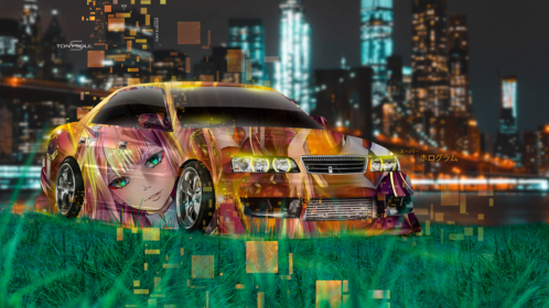 Toyota-Chaser-JZX100-JDM-Tuning-Anime-Girl-Aerography-Super-Hologram-TonySoul-Night-City-Art-Car-2019-Multicolors-8K-Wallpapers-design-by-Tony-Kokhan-www.el-tony.com-image