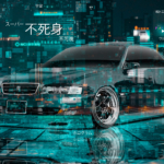 Toyota Chaser JZX100 JDM Tuning Super Invulnerability Invisibility TonySoul Crystal Night City TonyCode Car 2020