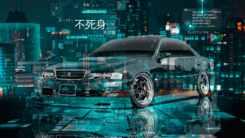 Toyota-Chaser-JZX100-JDM-Tuning-Super-Invulnerability-Invisibility-TonySoul-Crystal-Night-City-TonyCode-Car-2020-Multicolors-8K-Wallpapers-design-by-Tony-Kokhan-www.el-tony.com-image