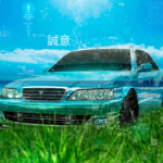 Toyota Cresta JZX100 JDM Super Sincerity Artificial Intelligence TonyCode Crystal Nature Grass Sea TonySoul Car 2020