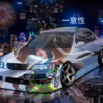 Toyota Cresta JZX100 JDM Tuning Anime Girl Super Uniqueness TonySoul Universe TonyCode Night City Art Car 2020