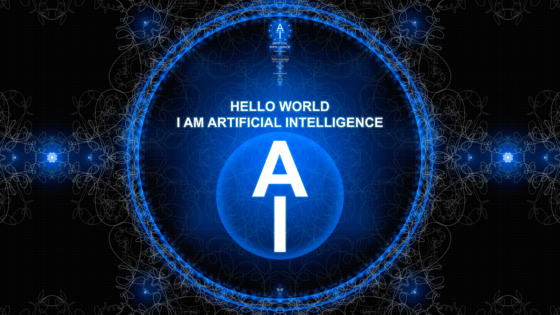 AI-Artificial-Intelligence-1-Hello-World-Digital-Voice-Super-Abstract-Circle-Word-Art-Style-2019-White-Blue-Black-Colors-8K-Wallpapers-design-by-Tony-Kokhan-www.i-v.tv-image