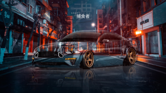 Ford-Mustang-TJIN-Edition-Muscle-Super-Crystal-Predator-Soul-Force-Energy-Night-City-Street-TonySoul-Universe-Art-Car-2020-Multicolors-8K-Wallpapers-by-Tony-Kokhan-www.el-tony.com-image