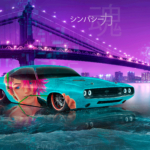 Dodge Challenger 1970 HAVOC Super Anime Boy Sympathy Soul Force Artificial Intelligence TikTok TonySoul Art Car 2020