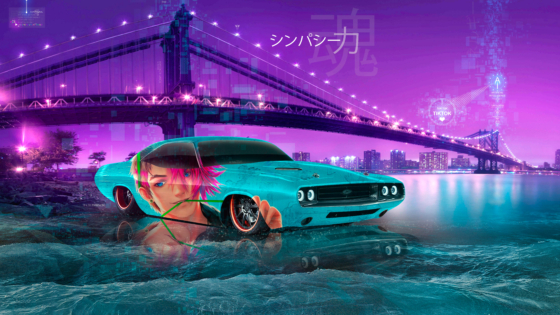 Dodge-Challenger-1970-HAVOC-Super-Anime-Boy-Sympathy-Soul-Force-Artificial-Intelligence-TikTok-TonySoul-Art-Car-2020-Multicolors-8K-Wallpapers-by-Tony-Kokhan-www.el-tony.com-image