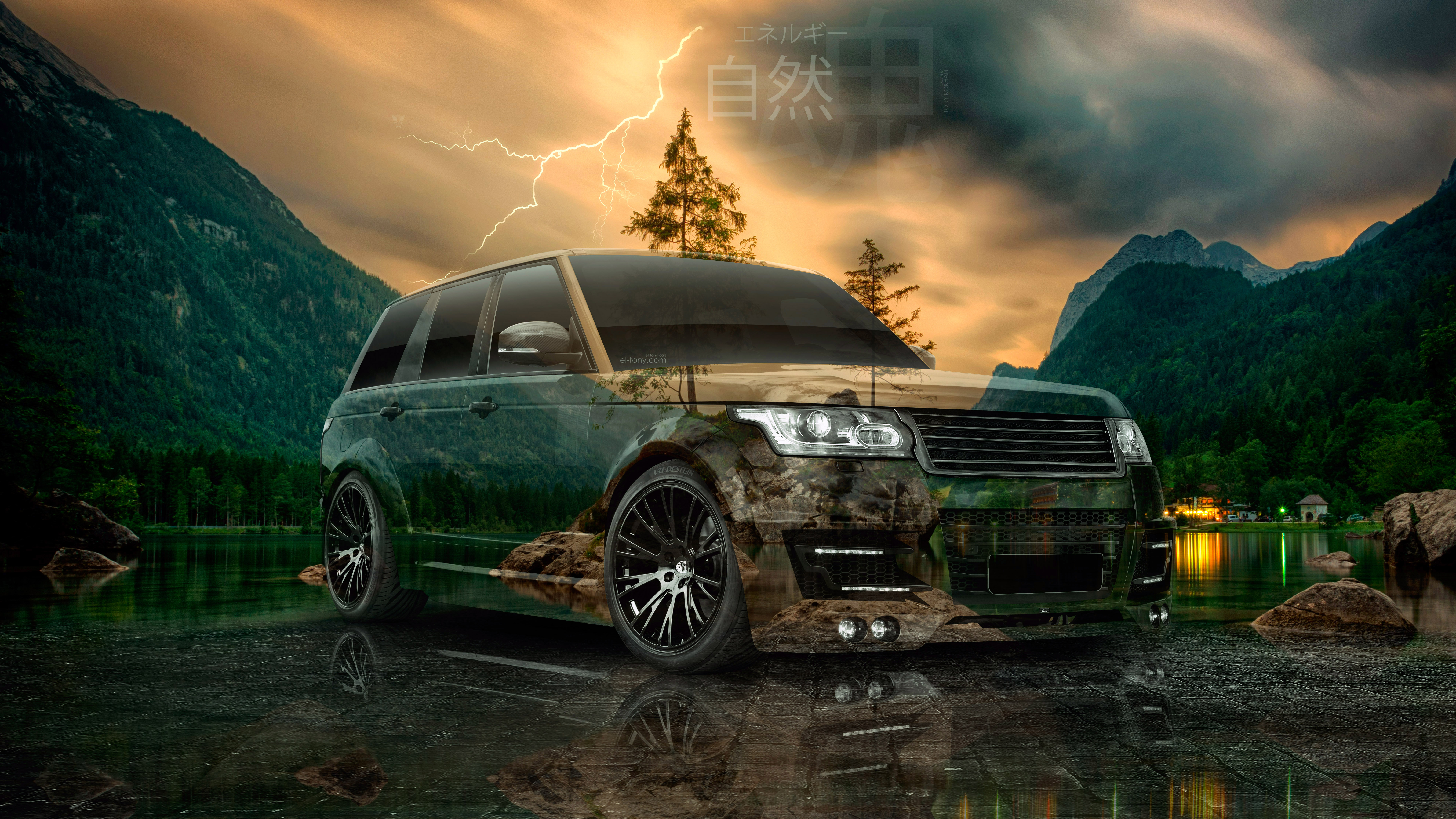 Land-Rover-Range-Rover-Tuning-Lumma-Super-Crystal-Mountains-Lightning-Lake-Soul-Nature-Energy-Car-2020-Multicolors-8K-Wallpapers-by-Tony-Kokhan-www.el-tony.com-image