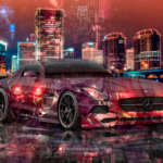 Mercedes-Benz SLS AMG Anime Code Vein Game Dark Soul Artificial Intelligence TonySoul Universe Art Car 2020