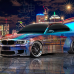 BMW M1 Tuning Super Crystal Agile Cold Soul South Bank Queensland Australia Brisbane River Nigh City Universe Car 2020