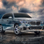 BMW X5M Super Crystal Soul Cold Lofoten Norwegian Sea TonySoul Universe Art Car 2020
