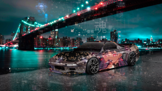 Honda-NSX-JDM-Tuning-Super-Anime-Girl-Butterfly-Soul-Elegance-Mastery-Artificial-Intelligence-Universe-Art-Car-2020-Multicolors-8K-Wallpapers-by-Tony-Kokhan-www.el-tony.com-image