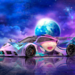 Pagani Huayra Imola Super Soul Lady Universe DJ Sona League Of Legends Artificial Intelligence Art Car 2020