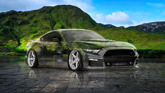 Ford-Mustang-GT-Tuning-Muscle-Super-Crystal-Nature-Soul-Tactile-Hologram-Art-Car-2020-Multicolors-8K-Wallpapers-design-by-Tony-Kokhan-www.el-tony.com-image