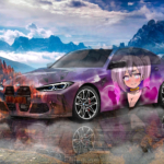 BMW M3 Competition Super Anime Girl Crystal Enamored Soul Nature Artificial Intelligence True Love Car 2020