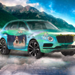 Bentley Bentayga Super Anime Girl Tsuyu Asui Crystal Rich Soul Nature Lake Fog Frog Artificial Intelligence God Car 2020