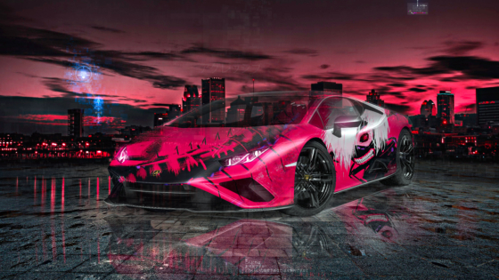 Lamborghini-Huracan-EVO-Super-Anime-Tokyo-Ghoul-Ken-Kaneki-Crystal-Aggressive-Soul-Artificial-Intelligence-Art-Car-2020-Multicolors-8K-Wallpapers-by-Tony-Kokhan-www.el-tony.com-image