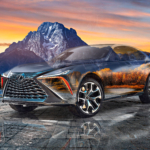 Lexus LF-1 Limitless Super Crystal Autumn Soul Grand Teton National Park USA Nature Art Car 2020