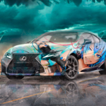 Lexus RC-F Super Crystal Popularity Soul Anime Music Boy Vocaloid Tornado Artificial Intelligence Star Art Car 2020