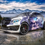 Mercedes-Benz GLE Coupe Super Anime Black Rock Shooter Crystal Magic Soul Artificial Intelligence Miracle Car 2020