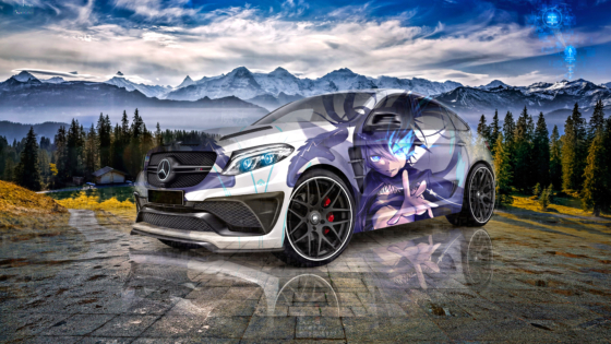 Mercedes-Benz-GLE-Coupe-Super-Anime-Black-Rock-Shooter-Crystal-Magic-Soul-Artificial-Intelligence-Miracle-Car-2020-Multicolors-8K-Wallpapers-by-Tony-Kokhan-www.el-tony.com-image