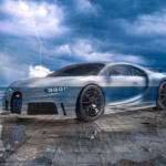 Bugatti Chiron Pur Sport Super Crystal Communicating With God Soul Sky Lightning Sea Tactile Hologram Art Car 2020