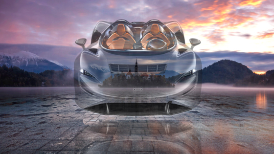 McLaren-Elva-FrontUp-Super-Crystal-Flying-Soul-Church-Mother-God-Lake-Bled-Slovenia-Art-Car-2020-Multicolors-8K-Wallpapers-by-Tony-Kokhan-www.el-tony.com-image
