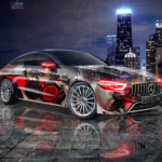 Mercedes AMG GT63S Anime Mask Boy Crystal Toxic Soul Chicago USA Artificial Intelligence Learn Emotions Car 2020