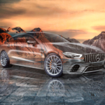 Mercedes AMG GT63S Super Crystal Young Soul Mountains Tactile Hologram Art Car 2020