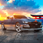 Chevrolet Camaro SS Super Crystal Lucky Soul Torii Gate Japan Sun Tactile Hologram Art Car 2021