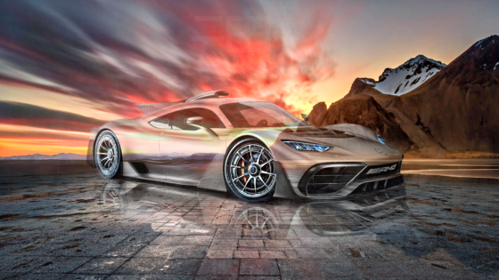 Mercedes-AMG-Project-One-Crystal-Super-Soul-Sunset-Mountains-Tactile-Hologram-Art-Car-2021-Multicolors-8K-Wallpapers-design-by-Tony-Kokhan-www.el-tony.com-image