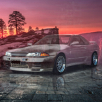 Nissan Skyline GTR R32 JDM Tuning Super Crystal Waiting Soul Yosemite National Park USA Art Car 2021