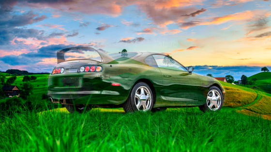 Toyota-Supra-A80-JDM-Super-Crystal-Ripe-Soul-Nature-Trees-Grass-Tactile-Hologram-Art-Car-2021-Multicolors-8K-Wallpapers-design-by-Tony-Kokhan-www.el-tony.com-image