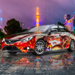 Toyota MarkX JDM Anime Boy Crystal Japanese Soul Japan Sapporo TV Tower Artificial Intelligence Human Soul Car 2021