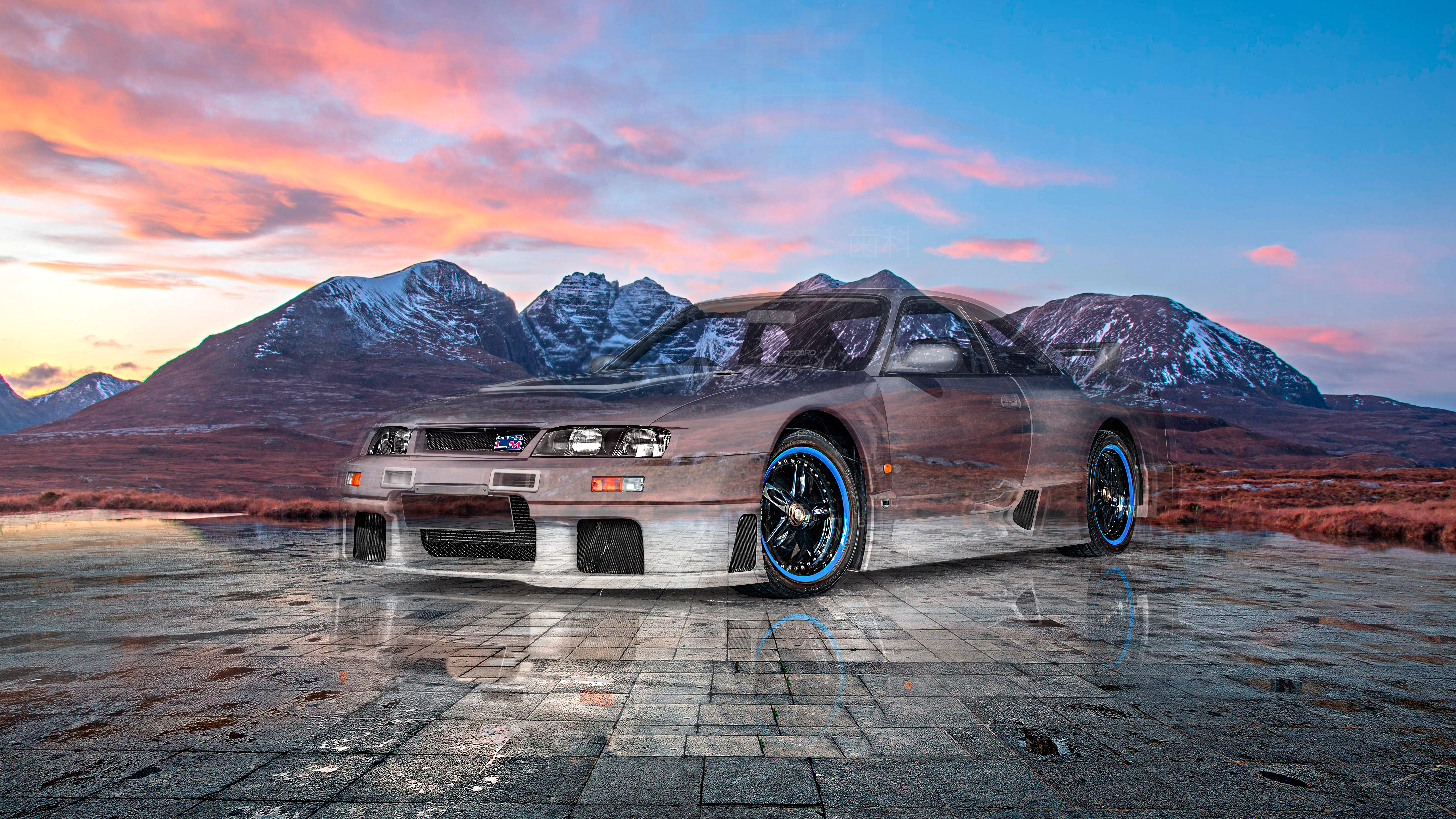 Nissan-Skyline-GTR-LM-Nismo-JDM-Tuning-Super-Crystal-Dental-Soul-An-Teallach-Scotland-Art-Car-2021-Multicolors-8K-Wallpapers-by-Tony-Kokhan-www.el-tony.com-image