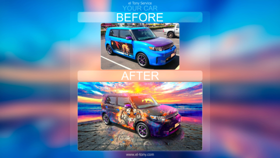 el-Tony-Service-Before-After-Your-Car-Real-Client-Sonia-Toyota-Rukus-Halo-Tiger-Car-2021-Multicolors-8K-Wallpapers-by-Tony-Kokhan-www.el-tony.com-image